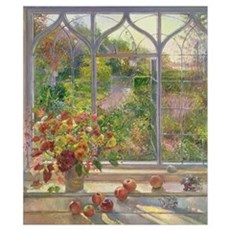 Autumn Windows, 1993 (oil on canvas) Poster