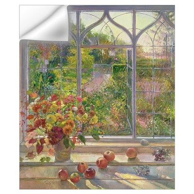 Autumn Windows, 1993 (oil on canvas) Wall Decal