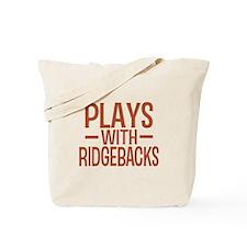 PLAYS Ridgebacks Tote Bag