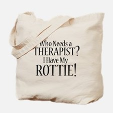 THERAPIST Rottie Tote Bag