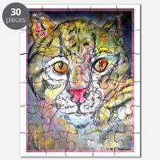 Wild cat! wildlife art! Puzzle