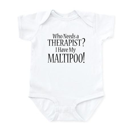 THERAPIST Maltipoo Infant Bodysuit