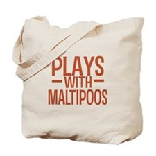 PLAYS Maltipoos Tote Bag