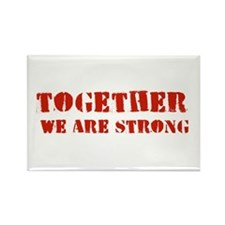 Strength in Numbers Rectangle Magnet