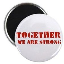 Strength in Numbers Magnet
