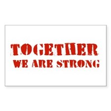 Strength in Numbers Decal