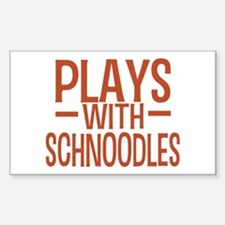 PLAYS Schnoodles Sticker (Rectangle)