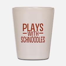 PLAYS Schnoodles Shot Glass