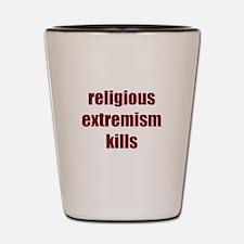 Religion Kills Shot Glass