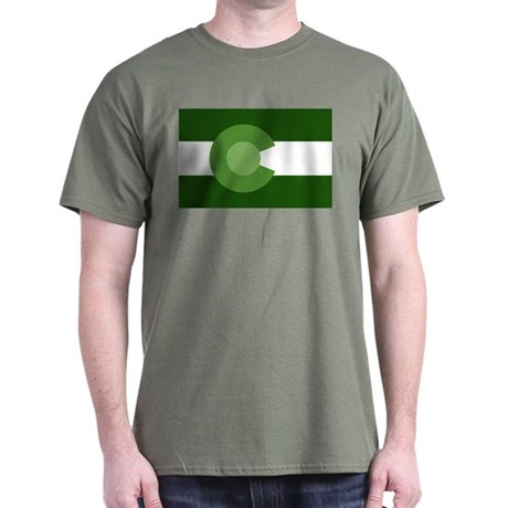 Green Colorado Dark T-Shirt