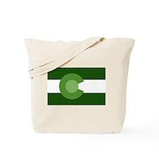 Green Colorado Tote Bag