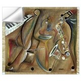 Jazz music Wall Decals