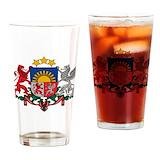 Latvian Pint Glasses