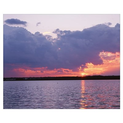 Maine, Frenchman Bay, Mount Desert Island, Panoram Canvas Art