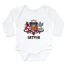 Cute Eastern europe Long Sleeve Infant Bodysuit