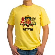 Latvia Coat of Arms T-Shirt