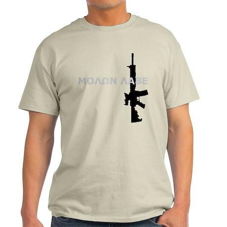 Molon Labe - Colt M4A2 Light T-Shirt