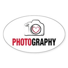 Love Photography Decal