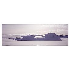 Canada, Alberta, Banff National Park, Wapta Icefie Poster
