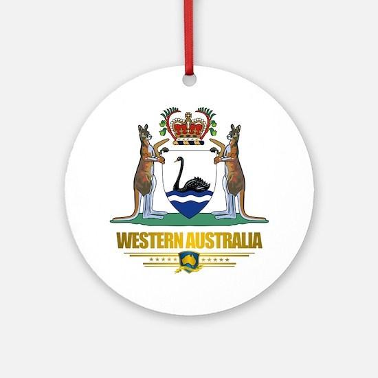 """Western Australia COA"" Ornament (Round)"