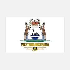 """Western Australia COA"" 38.5 x 24.5 Wall Peel"
