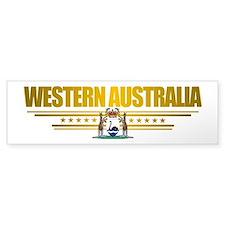 """Western Australia COA"" Bumper Sticker"