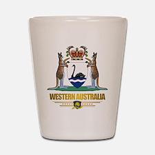 """Western Australia COA"" Shot Glass"