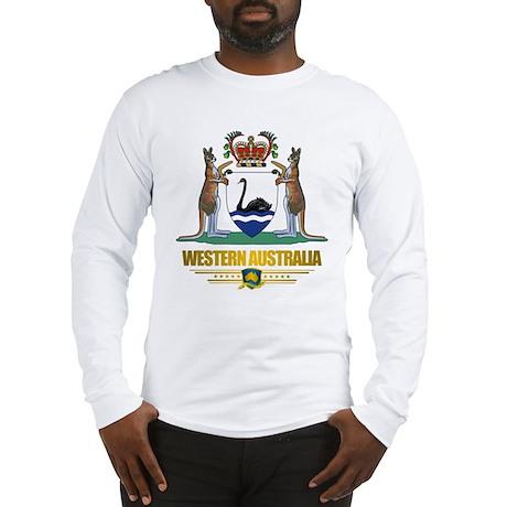 """""""Western Australia COA"""" Long Sleeve T-Shirt"""