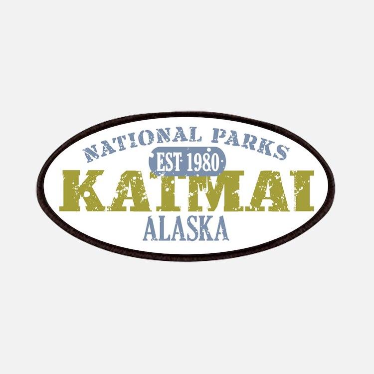 Katmai National Park Alaska Patches