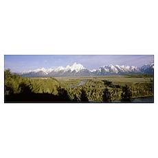 Wyoming, Grand Teton National Park, Snake River pa Poster