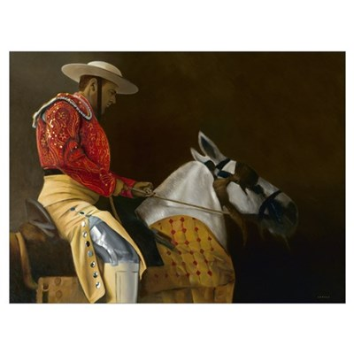 El Picador, 2005 (oil on canvas) Canvas Art
