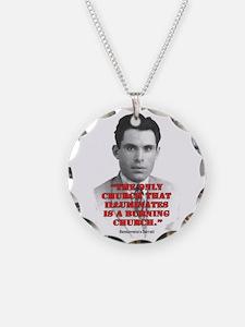 Durruti Burning Necklace