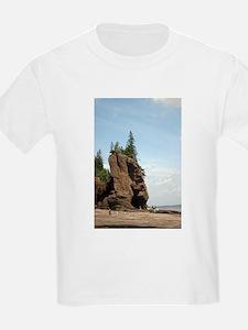 Hopewell Rocks, NS T-Shirt