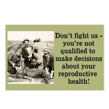 Don't Fight Us Postcards (Package of 8)