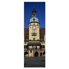 Germany, Leipzig, Facade of an old city hall Framed Print