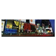 New York State, New York City, Times Square, Billb Canvas Art