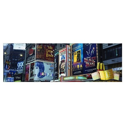 New York State, New York City, Times Square, Billb Poster