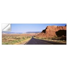 Rock formation at a roadside, Route 84, Abiquiu, N Wall Decal