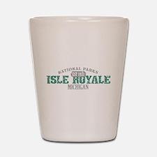 Isle Royale National Park MI Shot Glass