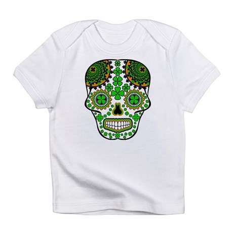 Shamrock Sugar Skull Infant T-Shirt