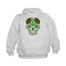 Shamrock Sugar Skull Hoodie