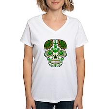 Shamrock Sugar Skull Shirt