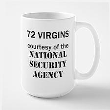 72 Virgins from National Security Agency Mug