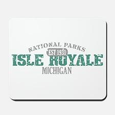 Isle Royale National Park MI Mousepad