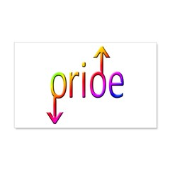 Gay Pride Male Wall Decal