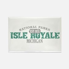 Isle Royale National Park MI Rectangle Magnet