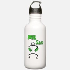 Hulk Sad Water Bottle