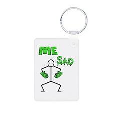 Hulk Sad Keychains