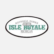 Isle Royale National Park MI Patches