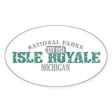 Isle Royale National Park MI Decal